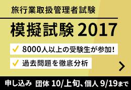 模擬試験 2017
