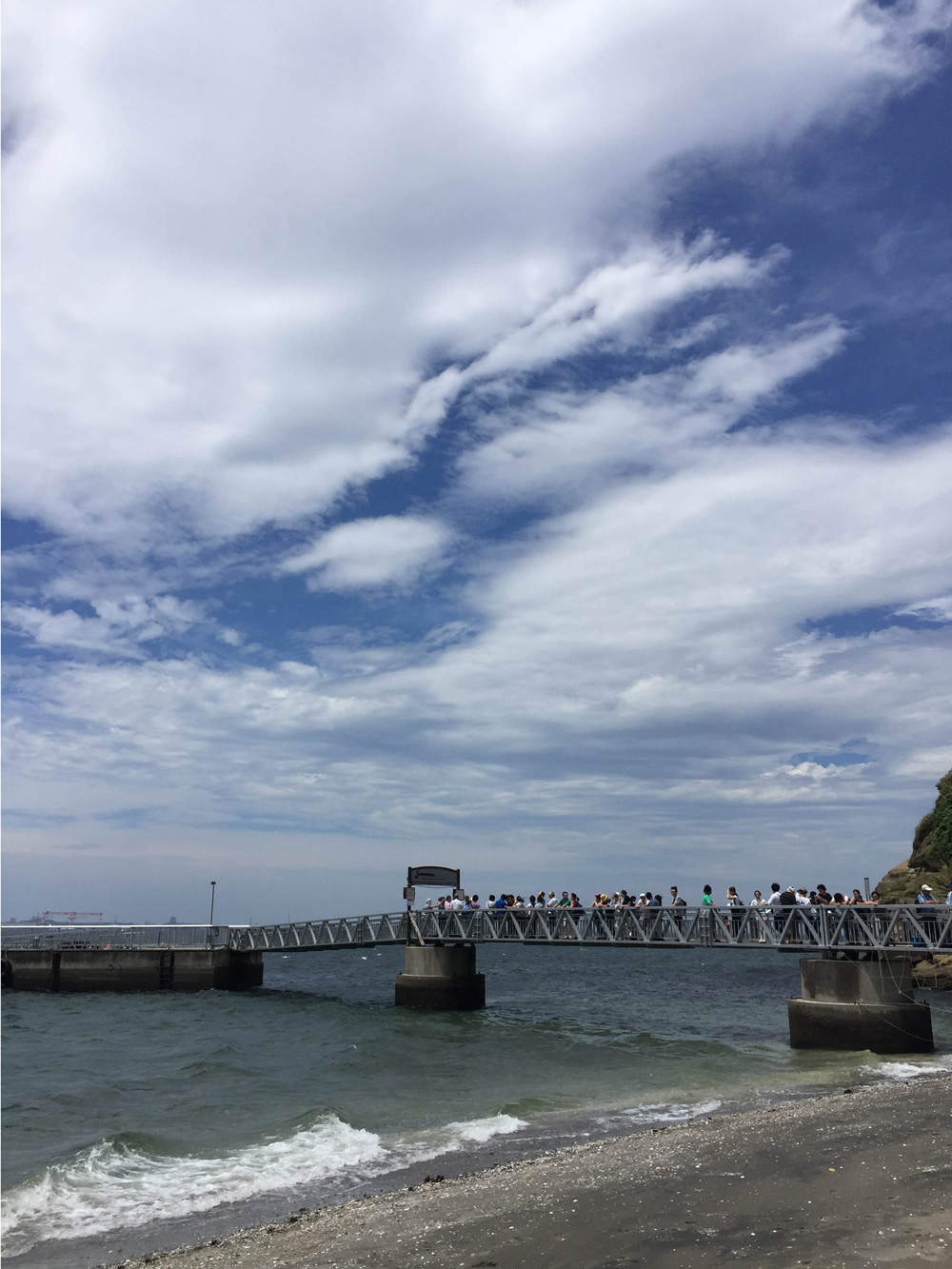 猿島の桟橋
