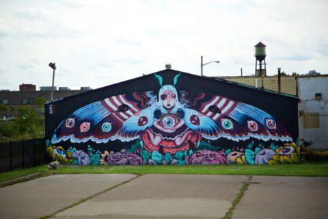 デトロイトストリートアート
