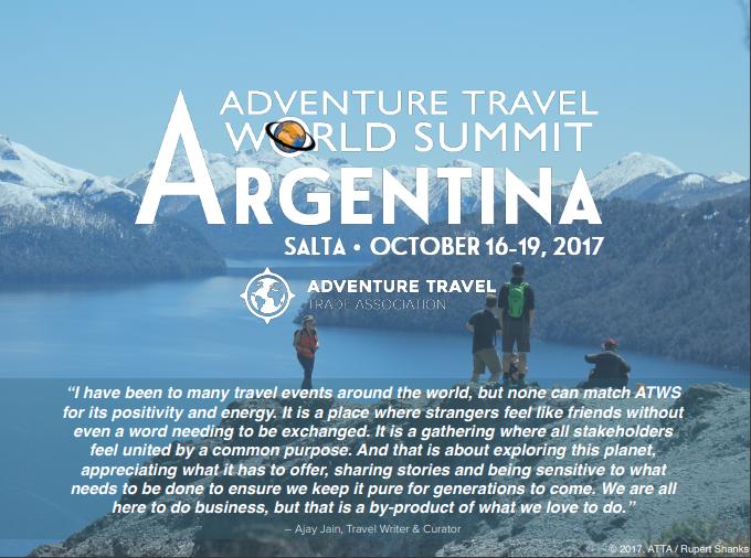 ATTAが取組むアドベンチャーツーリズムの国際大会「Adventure Travel World Summit」