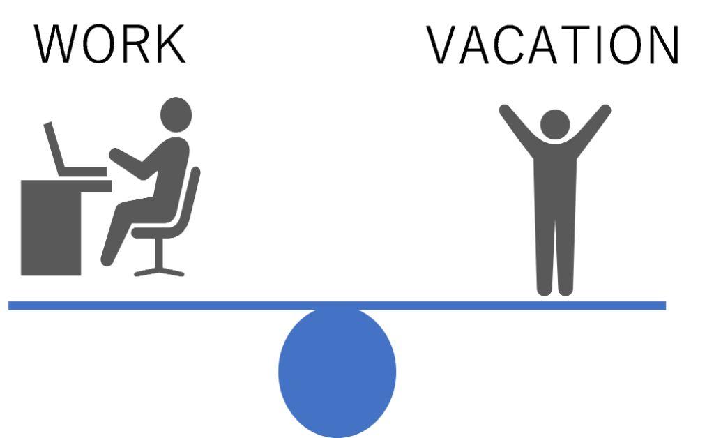 Work and vacation balance